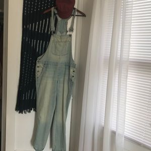 Levi's Slightly Distressed Overalls